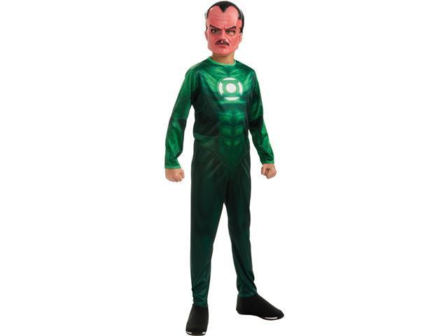 Green Lantern - Sinestro Child Costume