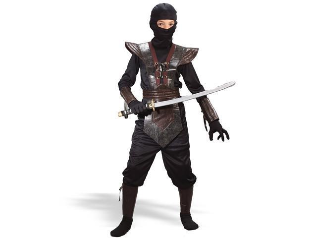 Child Leather Ninja Costume FunWorld 5920