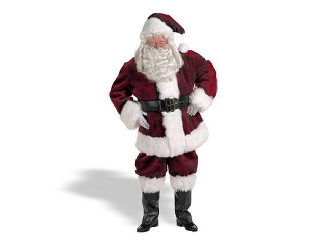 Majestic Santa Claus Suit for Adults
