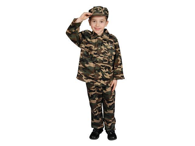 Military Officer Toddler/Child Costume