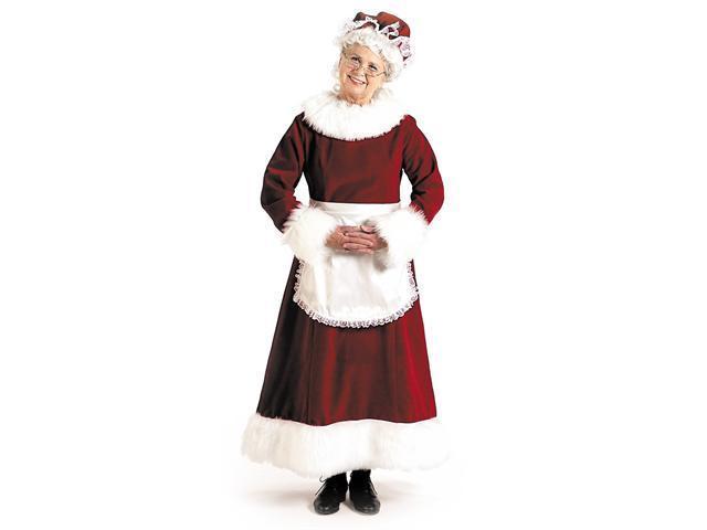 Mrs. Claus Dress Adult Costume - Medium (8-10)