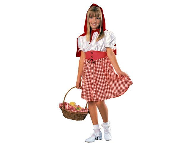 Girl's Red Riding Hood Costume Rubies 881066