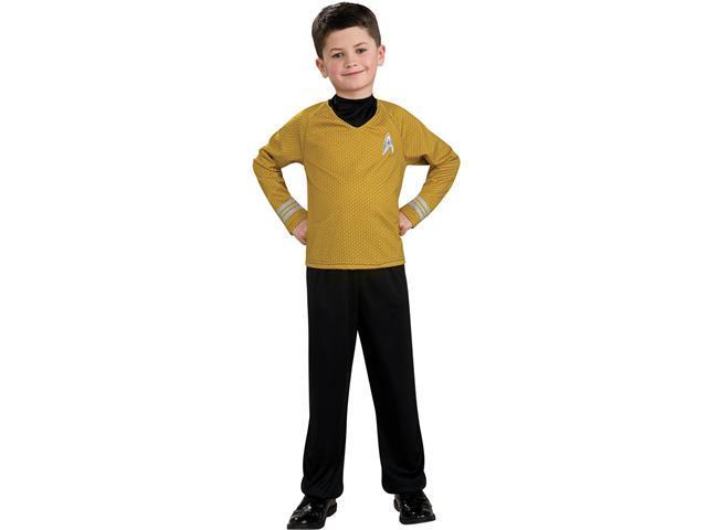 Child Economy Captain Kirk Uniform Rubies 883591
