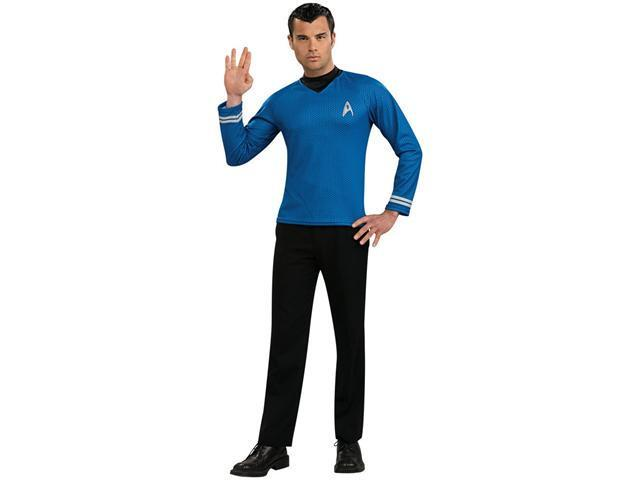 Adult Star Trek Economy Spock Uniform Rubies 889115 887358