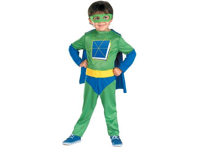 Child Super Why Costume Disguise 7205
