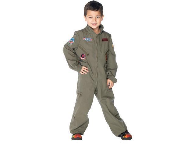 Top Gun - Flight Suit Child Costume - Small (4/6)