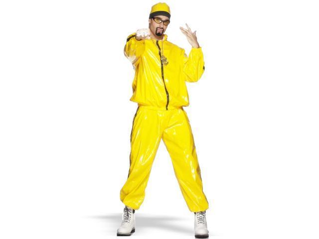 Yellow Rapper Suit  Adult