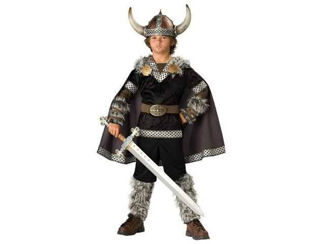 Boys Deluxe Viking Warrior Costume