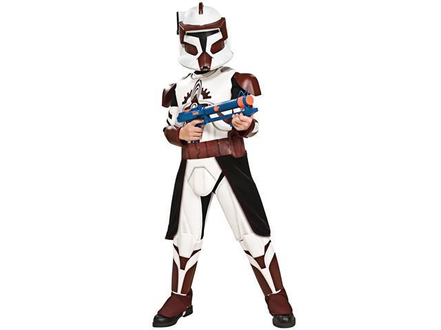 Child Deluxe Commander Fox Costume Rubies 883599