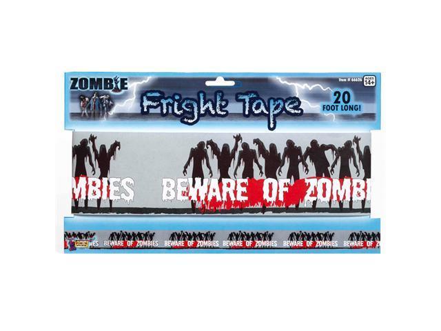 Zombie Warning Tape