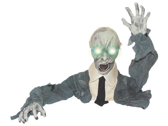 Animated Groundbreaker Zombie w/ Lights & Sound