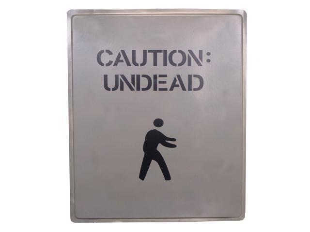 Caution Undead Sign