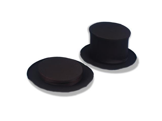 Collapsible Top Hat Black Adult