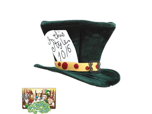 Classic Alice in Wonderland Mad Hatter Hat