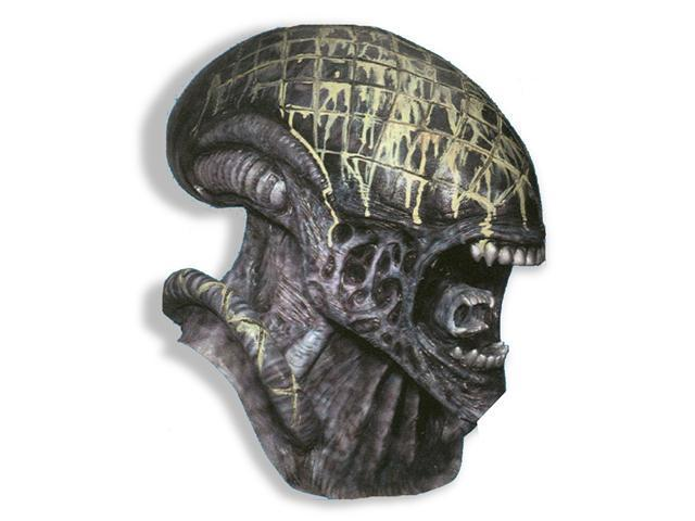 Overhead Alien Latex Deluxe Mask