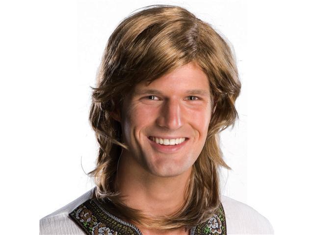 70s Guy Brown Wig