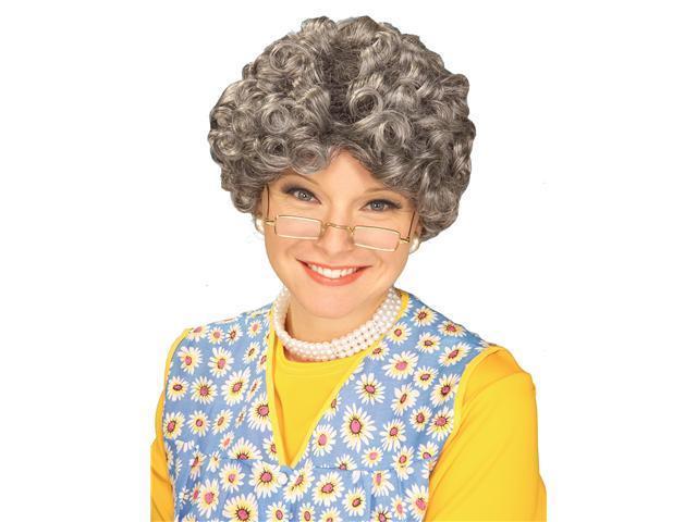 Mom Wig - Grey
