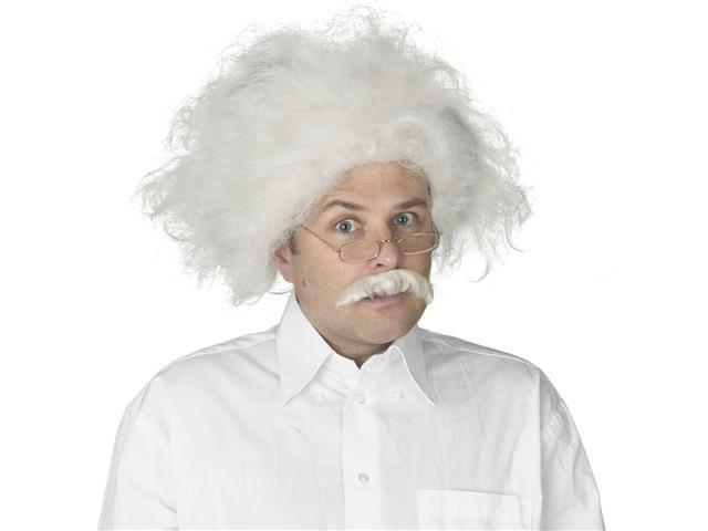 Adult Albert Einstein Wig