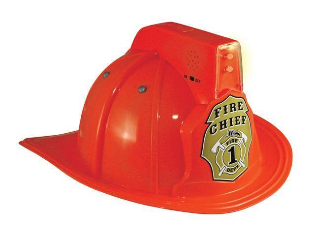 Child Fire Chief Helmet with Lights Aeromax FFR-Helmet