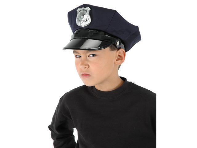 Child Police Chief Hat