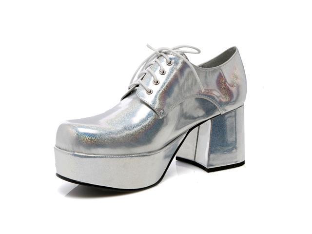 Silver Pimp Adult Shoes
