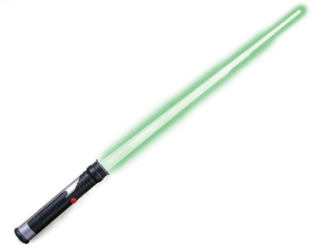 Star Wars Jedi Master Green Lightsaber