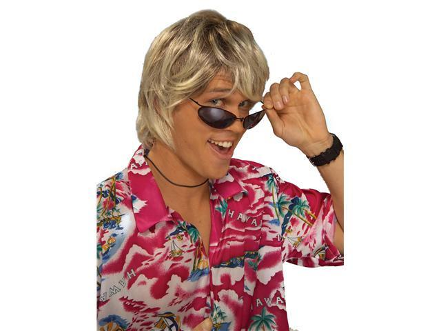 Surfer Dude Dirty Blonde Adult Wig