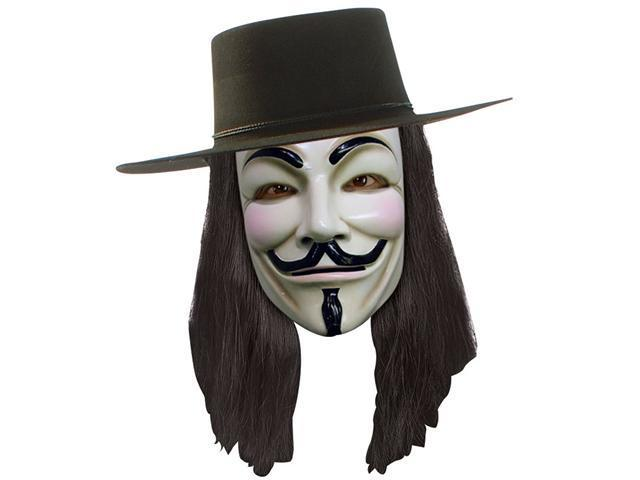 V For Vendetta Mask Rubies 4418