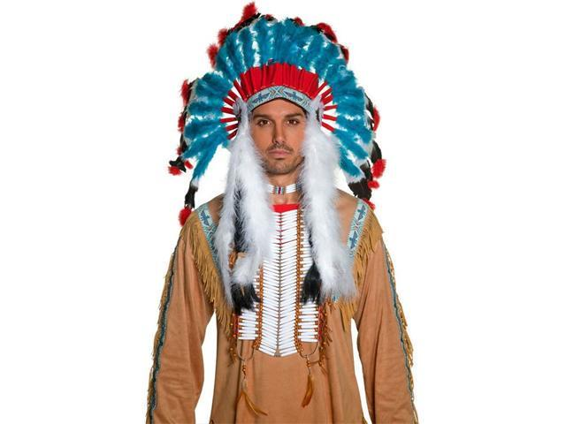 Western Authentic Indian Headdress Adult