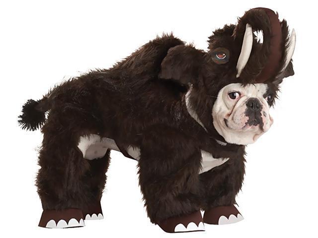 Animal Planet Wooly Mammoth Pet Costume California Costumes PET20115