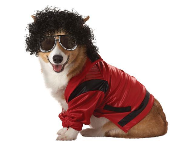 Pop King Pet Costume
