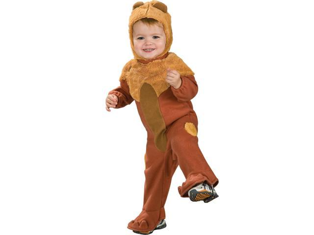 Wizard Of Oz Cowardly Lion Romper Costume Baby 6-12 Months