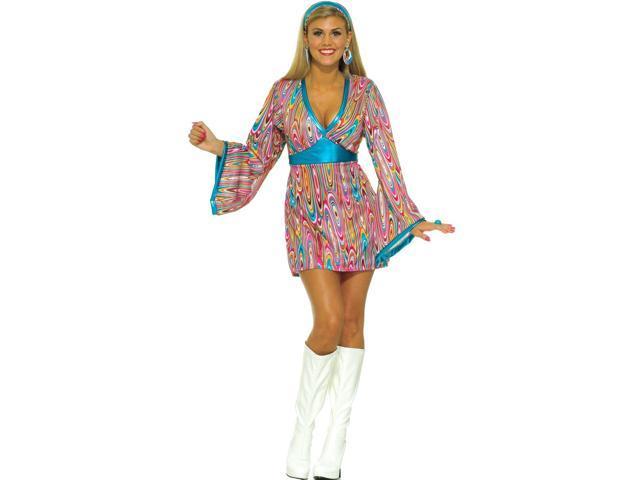 Wild Swirl Dress Adult Costume - Medium/Large