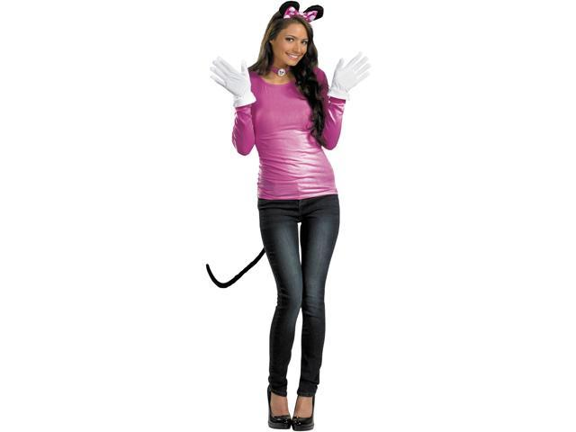 Disney Pink Minnie Mouse Adult Costume Kit One Size Fits Most