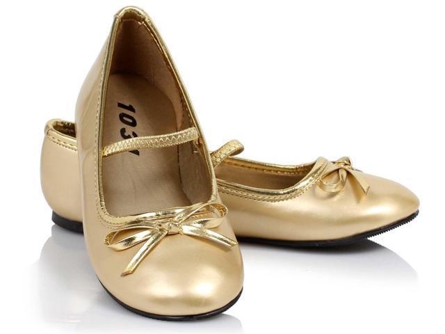 Ballet Flat (Gold) Child Shoes