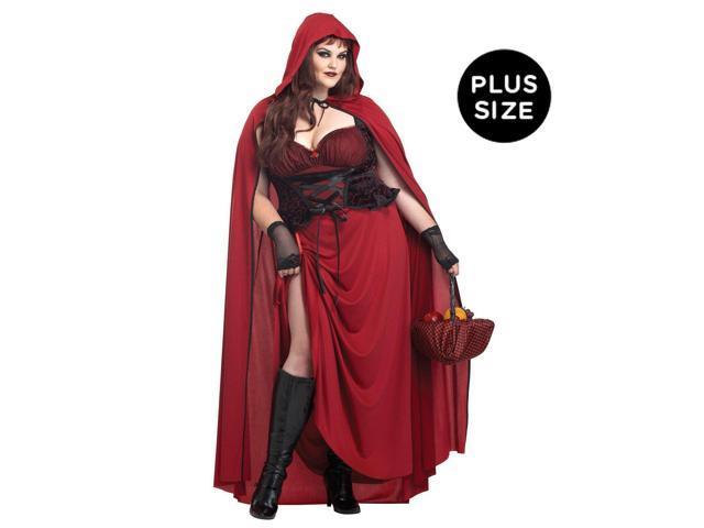dark red riding hood costume dark red riding hood plus