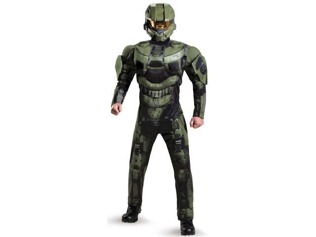 Halo 3 Deluxe Master Chief Adult Costume - X-Large