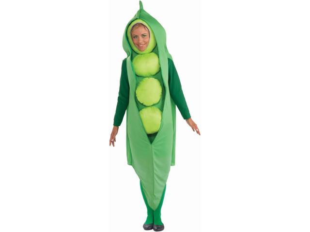 Pea Adult Costume - Standard One-Size