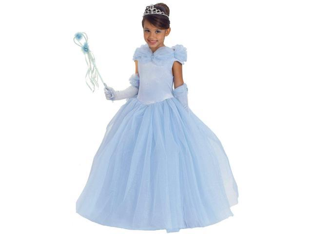 Blue Princess Cynthia Child Costume - Sale Sizes Only-X-Small (4)