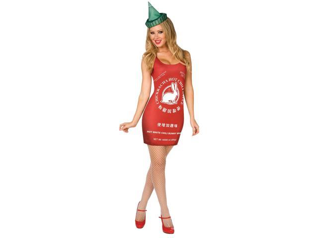 Chinese Hot Sauce Adult Costume - 10-12 M