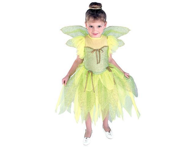 Girls Tinker Bell Costume - Fairy Costumes