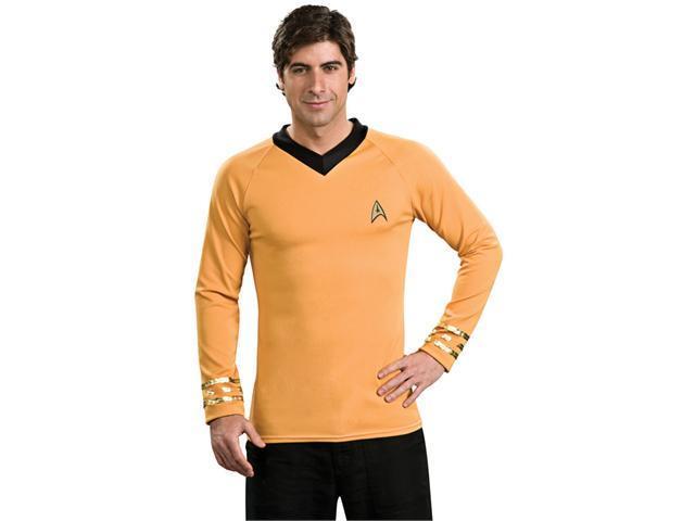 Deluxe Star Trek Gold Shirt Costume - Star Trek Costumes