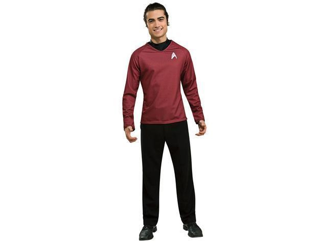 Deluxe Star Trek Red Shirt Costume - Star Trek Costumes