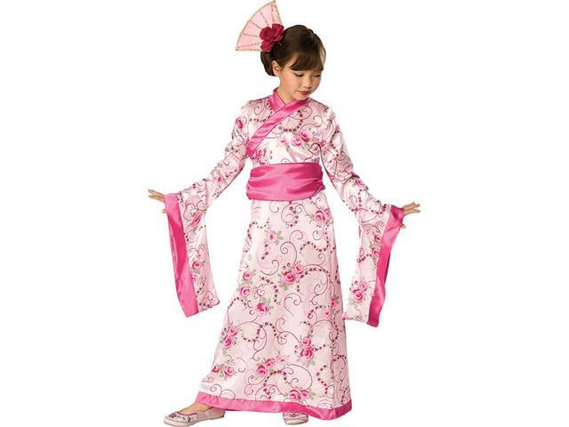 Girls Asian Princess Costume - Geisha Costumes