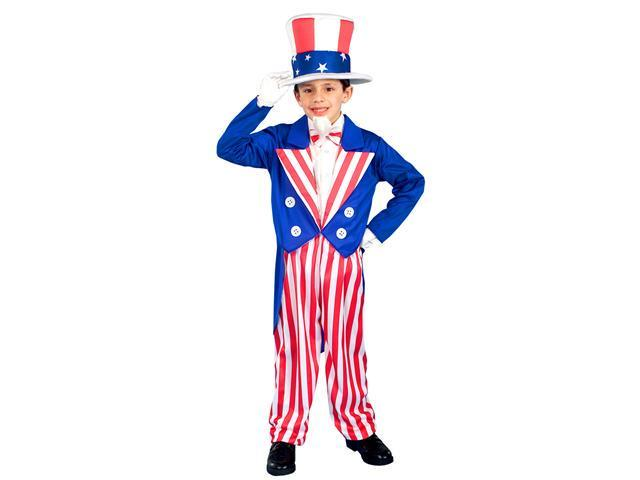 Kids Uncle Sam Costume - Patriotic Uncle Sam Costumes