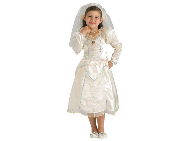 Girls Beautiful Bride Costume - Bridal Costumes