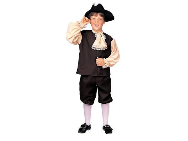 Kids Colonial Boy or Benjamin Franklin Costume - Colonial Costumes