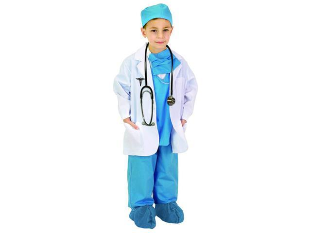 Complete Child Blue Physician Costume - Doctor Costumes