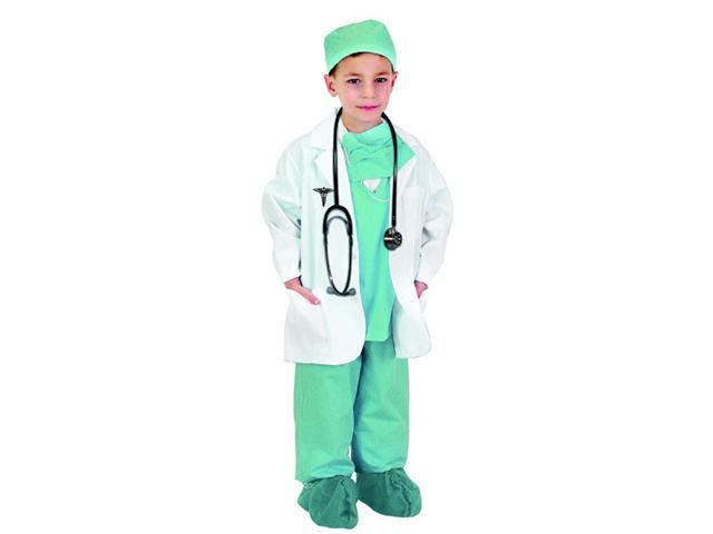 Complete Child Green Physician Costume - Doctor Costumes