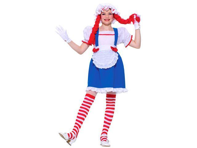 Girls Ragdoll Costume - Girls Halloween Costumes